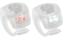 Knog Beetle Twinpack transparent